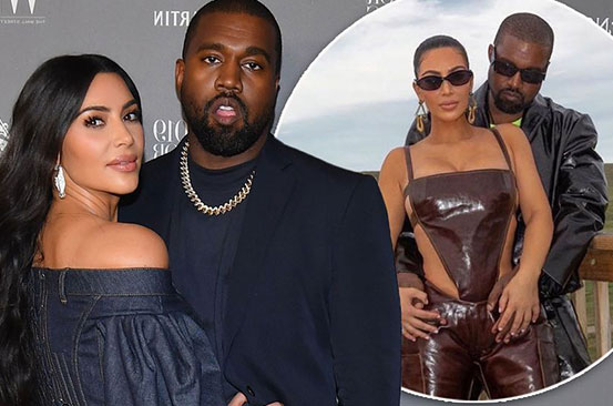 Kim Kardashian and Kanye West 'no longer talking' as they prepare for 'divorce'