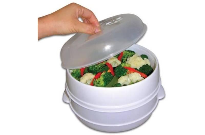 Kitchen gadget: Microwave steamer