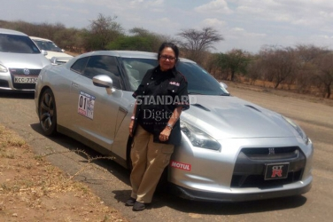 Meet 72 year-old Kenyan woman who's giving men a run for their money on the race track