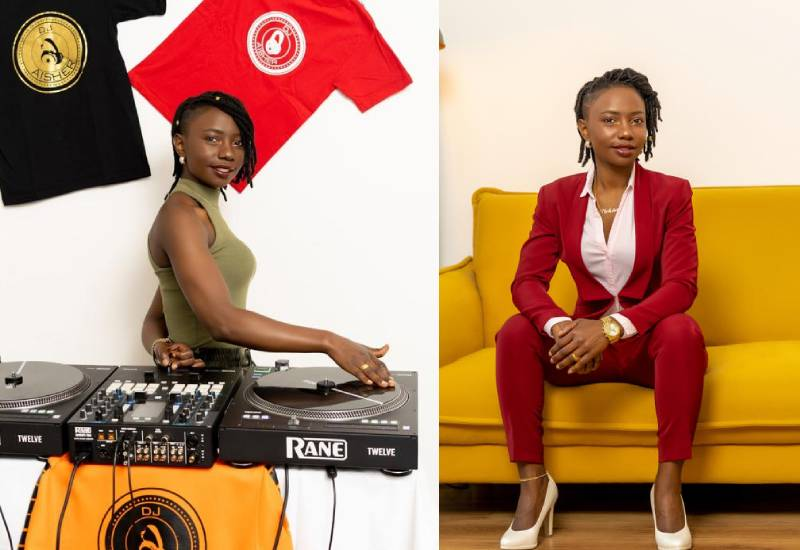 Meet Aisha the DJ spinning her way to the top