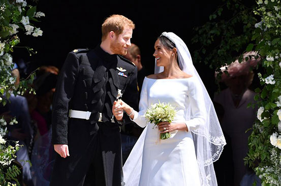 Meghan Markle's wedding day speech that 'broke rules'