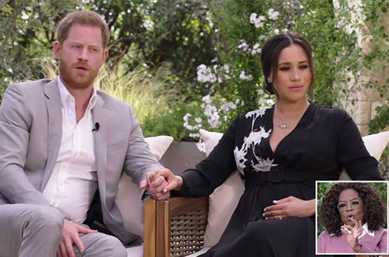 'My biggest fear was history repeating itself': Prince Harry tells Oprah in interview