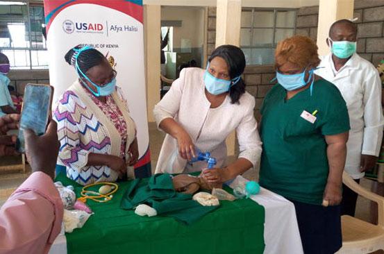 Nurse Christine Sammy's mission to curb early child deaths