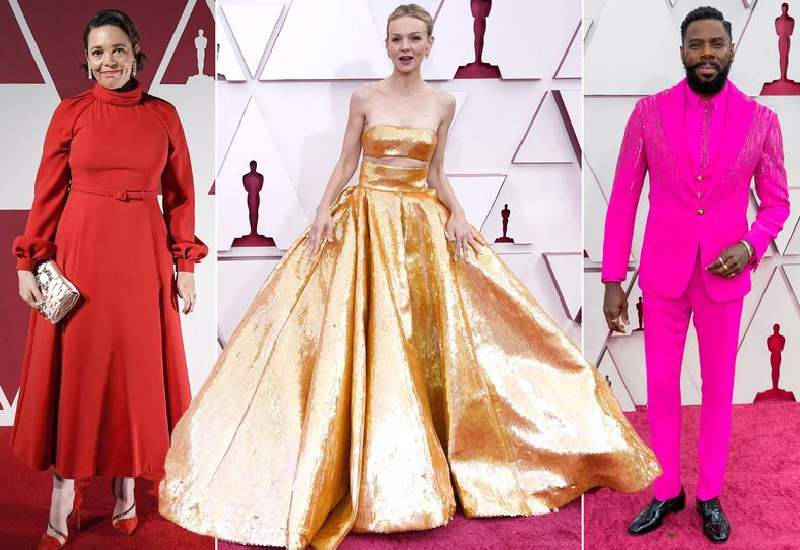 Oscars 2021 red carpet arrivals