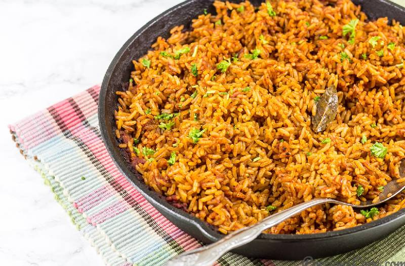 Recipes around Africa: Jollof rice