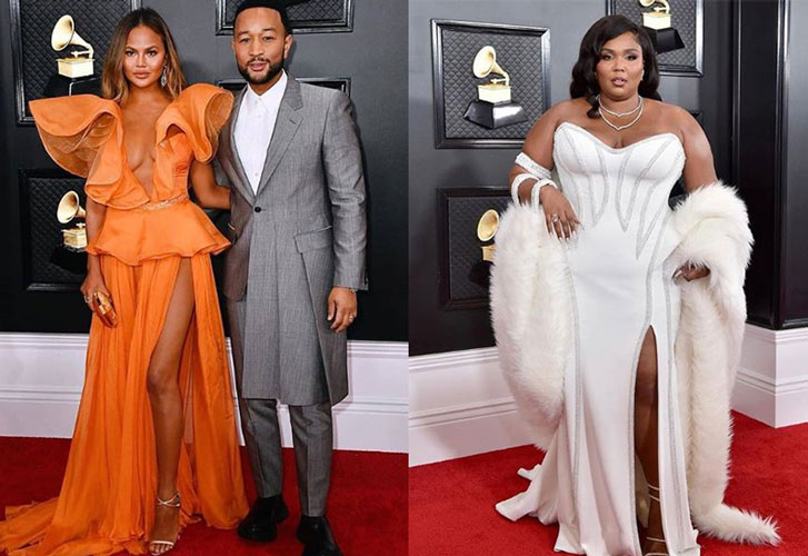 Red carpet style at the 2020 Grammy Awards