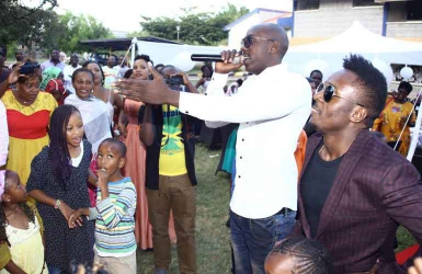 Sauti Sol was the icing on our cake