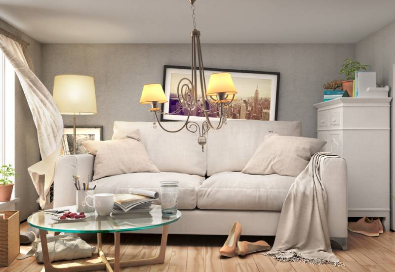 Say goodbye to clutter
