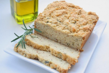 Surprise him with olive oil bread