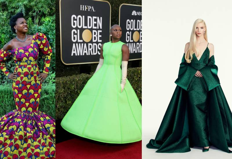 The best of the 2021 Golden Globes glitz and glamour