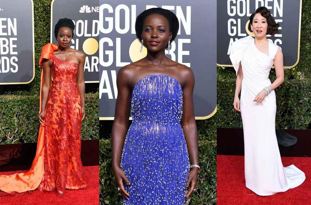 Best dressed at Golden Globes 2019 - Celebrities dazzle in sequins and metallics