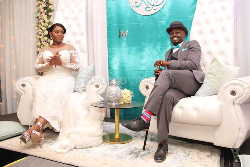 Curvaceous  Risper Faith ties knot with rich boyfriend in glamorous private wedding
