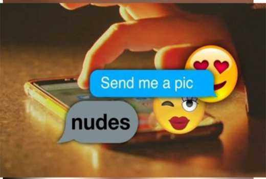 Don't succumb to his perverted ways: Save the risqué, steamy texts for your committed relationship