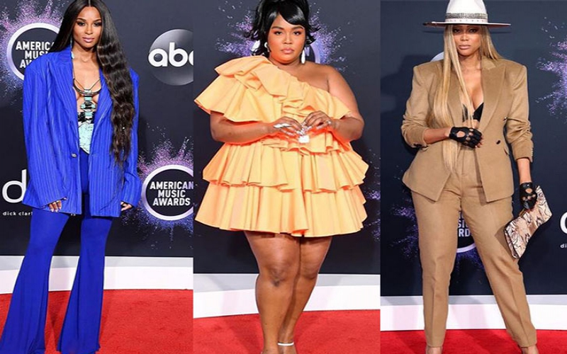Fashion looks from the 2019 AMAs