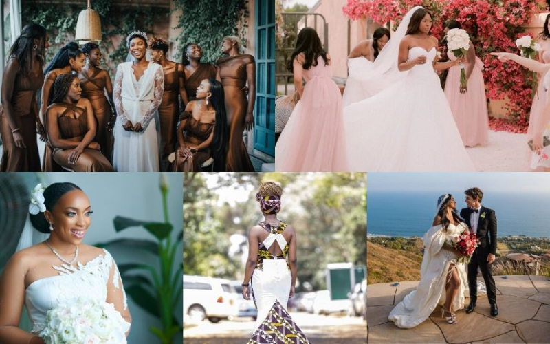 Gorgeous bridal looks of 2019