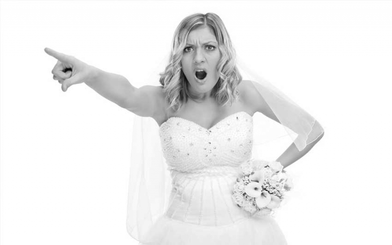 How to deal with a bridezilla