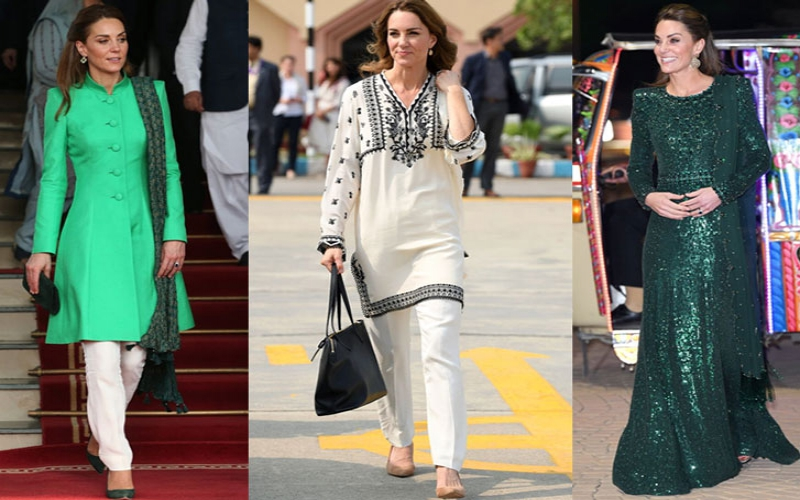 Kate Middleton's stunning Pakistan tour outfits and their historic meanings