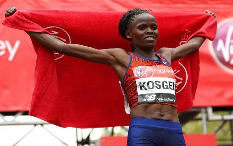 Kenyan woman youngest to win London marathon
