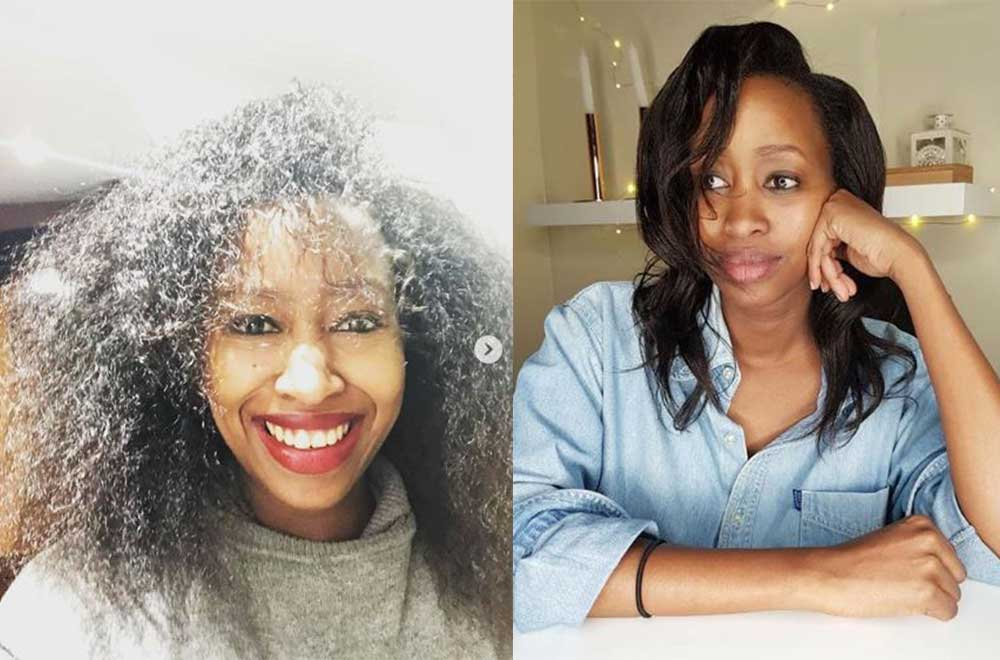 Photos: Why netizens are gushing over Janet Mbugua's hair months after delivery