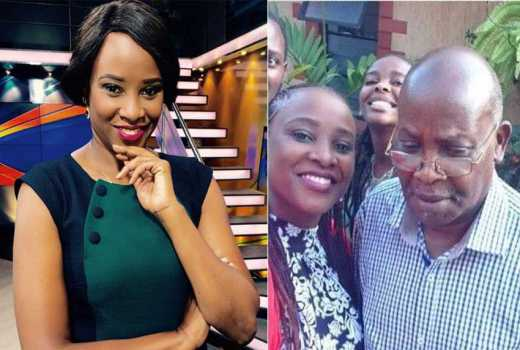 President Uhuru joins Kanze Dena and her family in mourning the death of her father