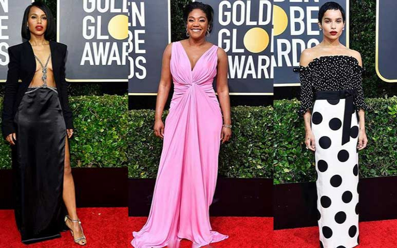 Red carpet style at the 2020 Golden Globes