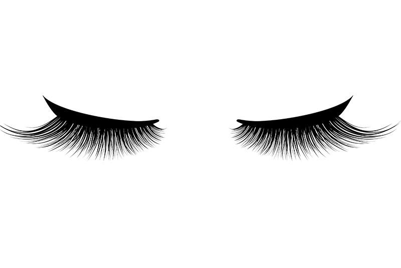 Health risks of wearing fake eyelashes