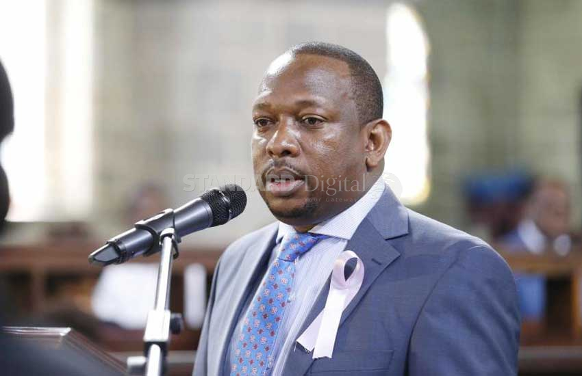 Sonko vows to defend women put in the family way by politicians who then 'vanish'
