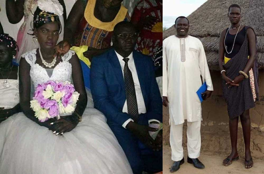 South Sudan's Nyalong Ngong weds in colourful ceremony after her 500 cows, 3 V8 cars auction