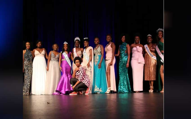 Teacher Wanjiku awarded at Miss Kenya USA Pageant