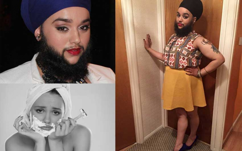 The struggles of women with beards and hairy bodies
