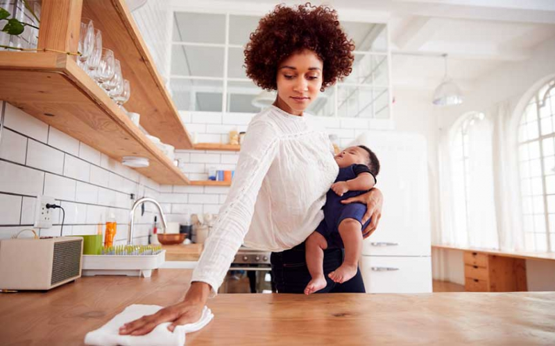 Tips to manage when the house help is away for holiday