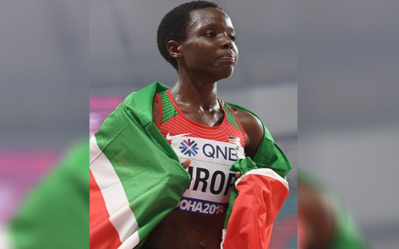 Tirop bags back-to-back bronze in 10,000m race