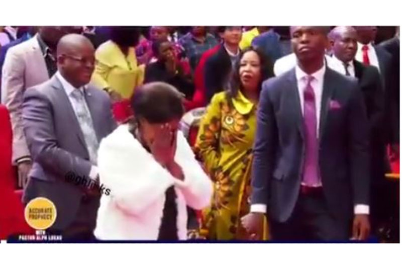 Hell breaks loose in church after woman discovers best friend is behind her tribulations