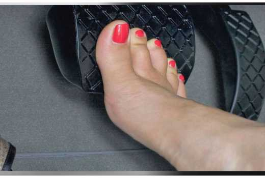 Three reasons why driving in high heels could be fatal