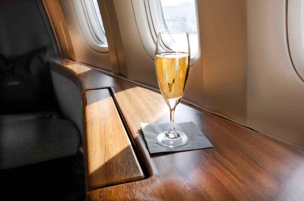 Wine hates flying: Why your mid-flight wine tastes different