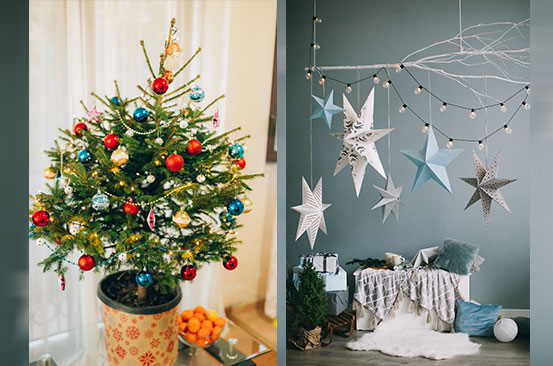 Tips for decorating a small space for the Christmas holidays