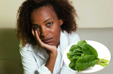 Tired of make up? Try spinach and beans