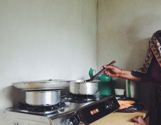 Why does cooking gas run out mid-month?