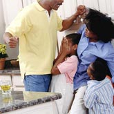 My husband is a big threat to me and my kids
