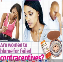 Are women to blame for failed contraceptives?