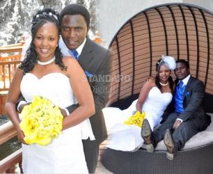 Glam wedding: She went 'mteja' on me...