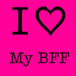 There is nothing like a bff! Just stick to your lane