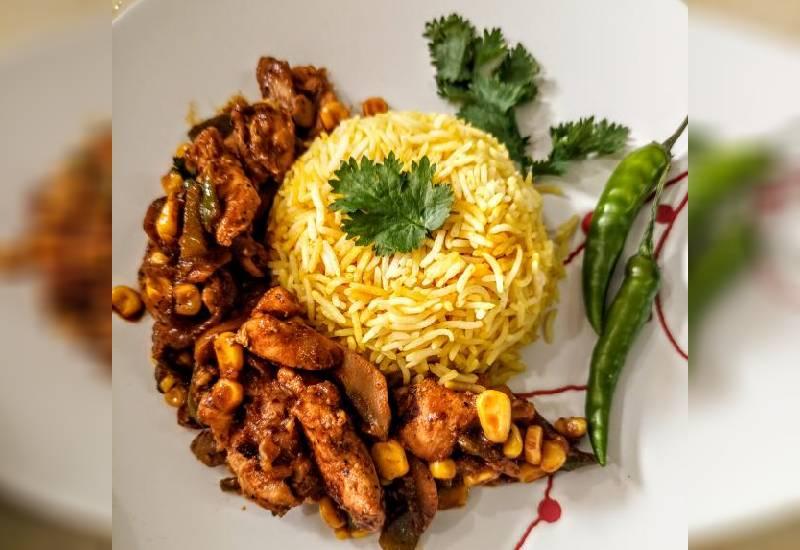Easy recipe: Chicken in mushroom and sweet corn