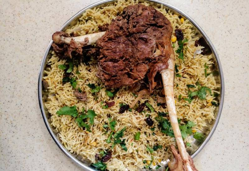 Easy recipe: Slow cooked mbuzi with fried rice