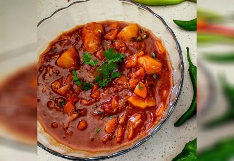 Easy recipe: Vegetable stew (mchuzi)