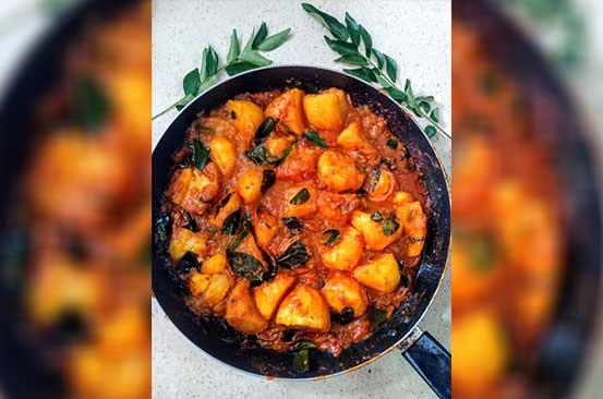 Easy recipe: Viazi vya limru (curry leaf potatoes)