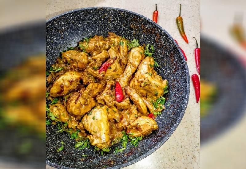 #EasyRecipe: Swahili chicken in coconut sauce