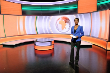 Catching up with Sophie Ikenye, host of BBC's Focus on Africa.