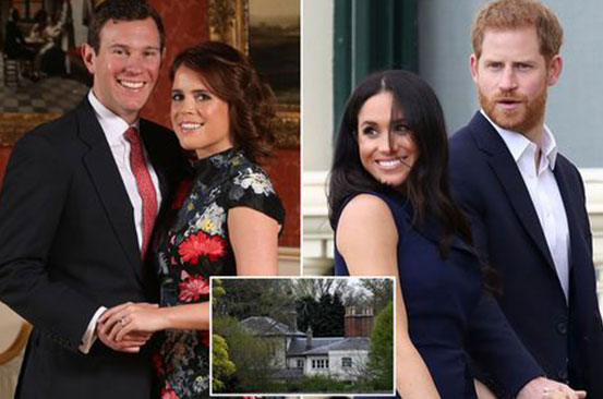 Harry and Meghan's 'belongings removed from Frogmore Cottage as Princess Eugenie moves in'