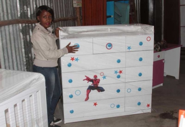 I got tired of buying in-fitting furniture- Owner of Midland Kids' Furniture
